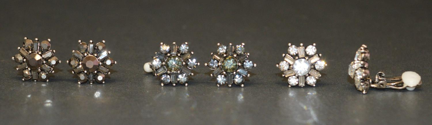 Star/Flower Shaped Clip Earring