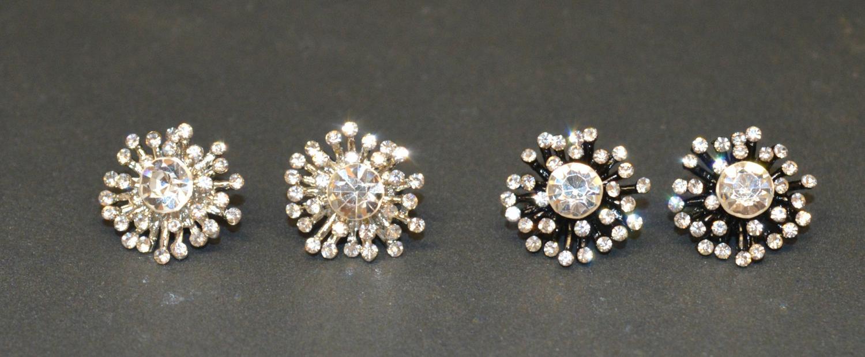 Firework Style Diamante Earring