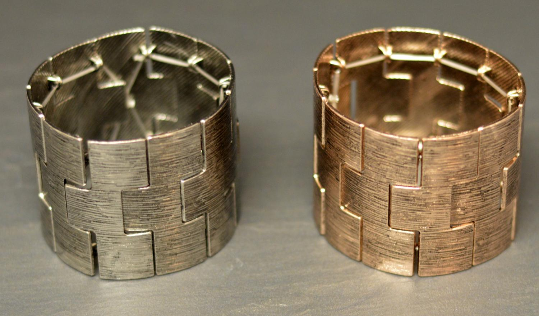 Worn Effect Elasticated Panel Bracelet
