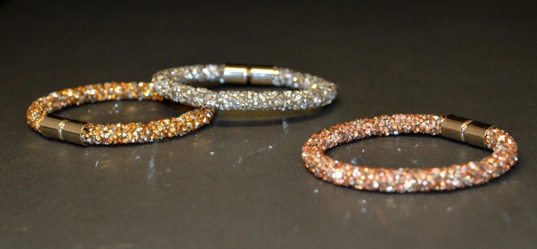 Diamante Encrusted Magnetic Bracelet