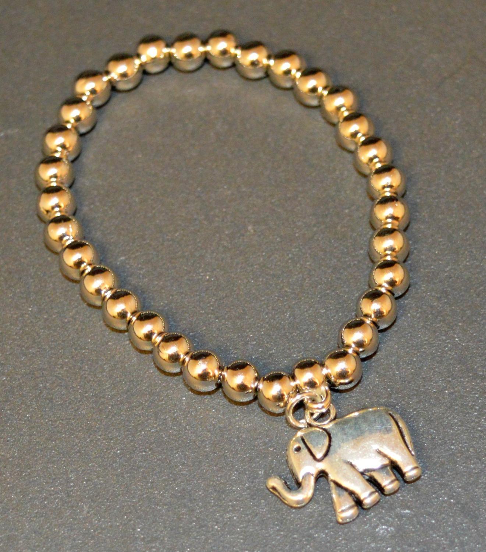Elephant Elasticated Bracelet