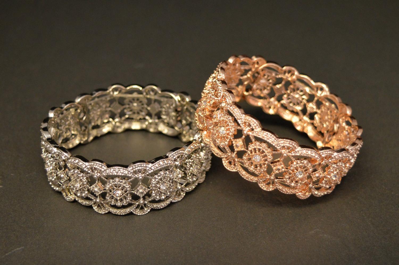 Filigree Elasticated Bracelet