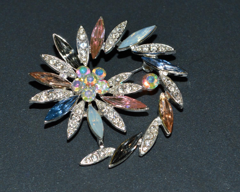 Spiral/Flower Style Brooch