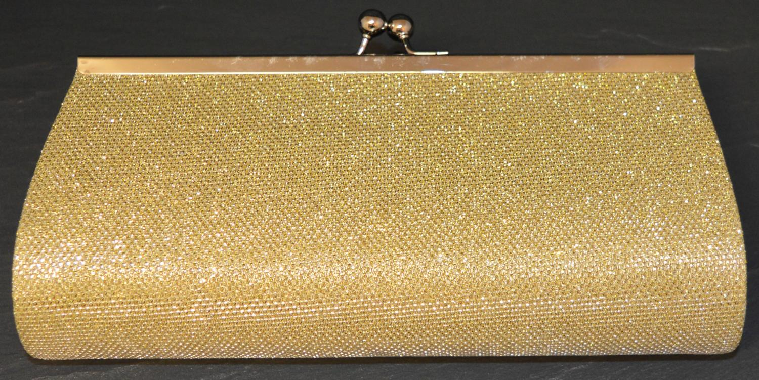 Glitter Effect Clutch Bag