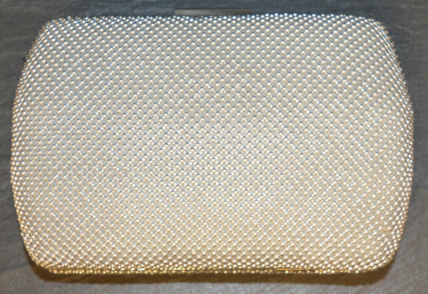 Mesh Style Clutch Bag