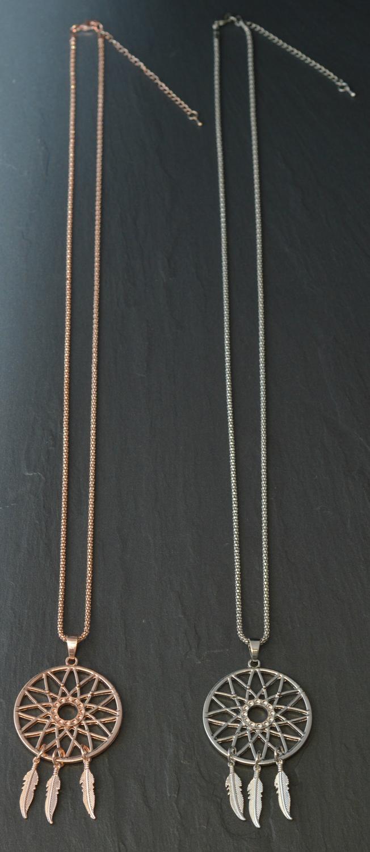 Long Dream Catcher Necklace