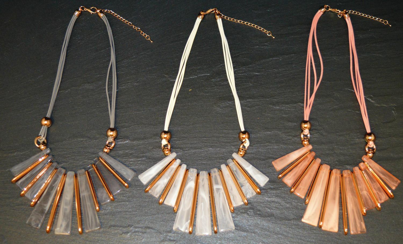Pastel Acrylic Necklace