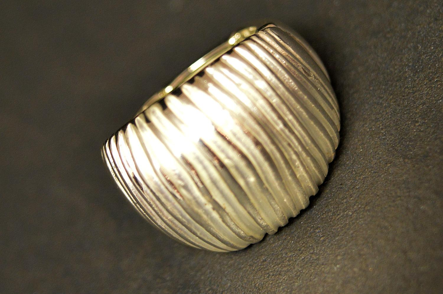 Textured Matt Ring
